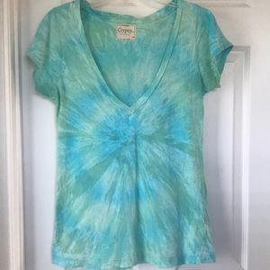 Gypsy 05 Blue/Green Tie Dye T-Shirt